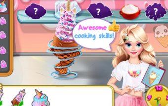 ledų gaminimo žaidimas vaikams. Žaidime sužinokite kaip pasigaminti ledus.