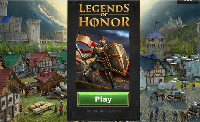 Legend of Honor strateginis žaidimas.