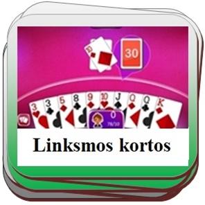 Linksmi kortų žaidimai online.