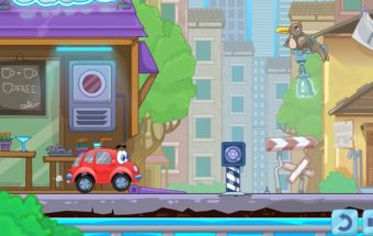 Loginė mašinytė 4 - loginis žaidimas vaikams