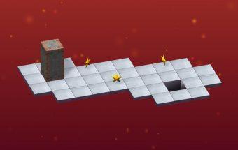 Loginis žaidimas - kaladėlių tiltas, erdvė ir lavinimas - Zaidimai.lt