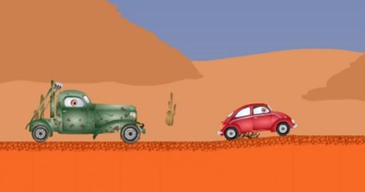 Mašinų rajūnių žaidimas apie lenktynes kuriose reikia sumedžioti mašinas