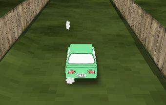 Auto žaidimas apie mažas mašinytes kurias reikia valdyti