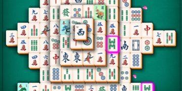 Loginis mahjong žaidimas - 2 dalis.