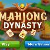 Loginis Ma Džong žaidimas Mahjong dinastija.