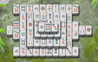 Mahjong žaidimas - kortelės.