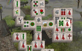 Loginis Mahjong miestelis