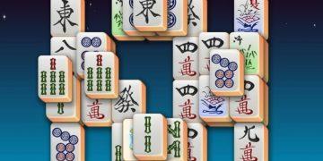 Klasikinis mahjong žaidimas su mahjong musytėmis