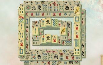 Pavasarinis mahjong žaidimas mergaitėms