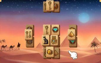 Loginis žaidimas mahjong piramidės.