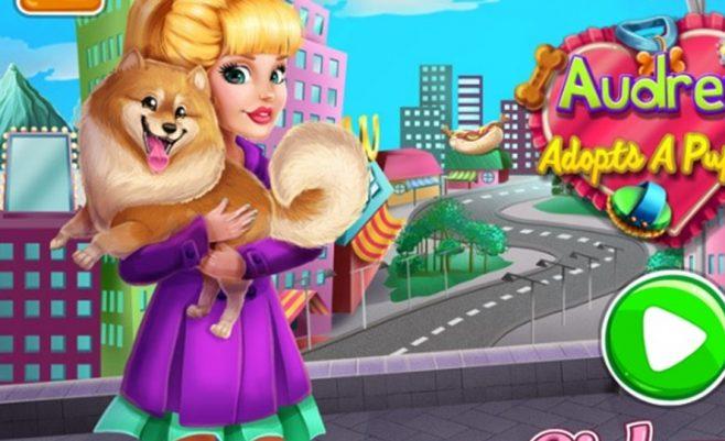 Mažas šunytis, gyvūnėlių žaidimas - tai mielas ir ypač įdomus kompiuterinis žaidimas.
