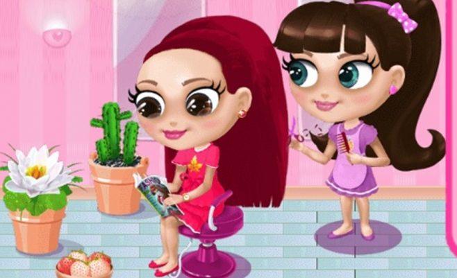 Kirpykla - mergaičių kirpykla, kurioje dalyvauja išdykusi kirpėja. Šukuosenos merginoms ir makiažas.