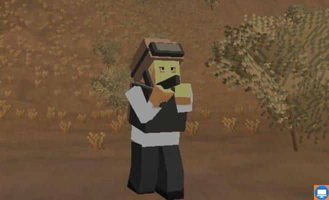 Minecraft žaidimas: minecraft mūšis online.