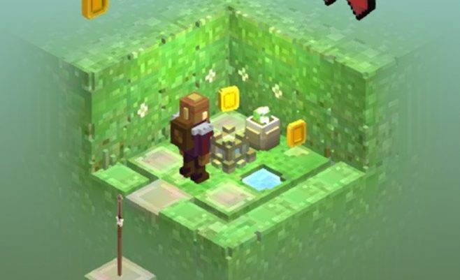 Veiksmo žaidimas minecraft paslaptys.