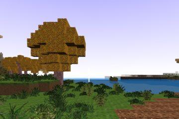 Minecraft statybos