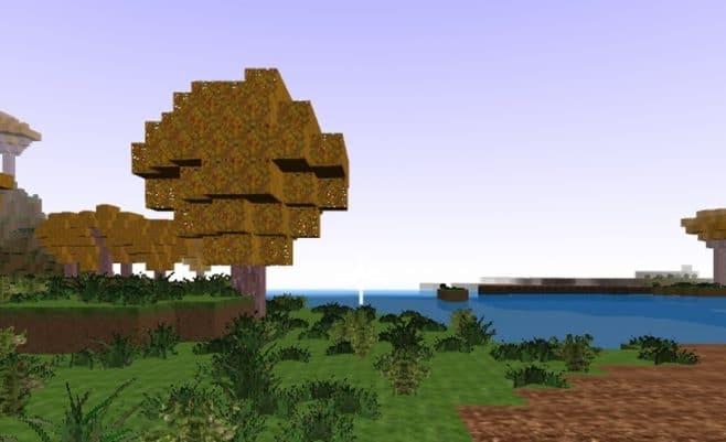 Minecraft pasaulis online. Statybos su minecraft herojais.