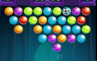 Mistinis ir nemokamas Burbuliukų žaidimas. Burbuliukų šaudyklė kur reikia šauti į burbulus.