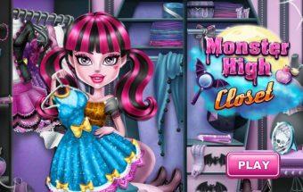 Monstrės drabužiai - tai mergaičių žaidimas, kuriame turi rengti mergaites.