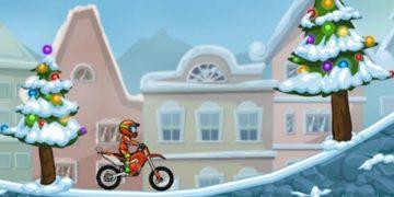 Motociklų lenktynės su Moto XM modeliu.