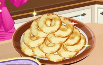 Žaidimas vaikams apie tai kaip pagaminti patiekalą iš obuolių internete