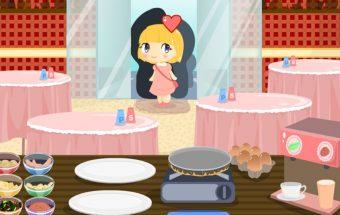 Omleto žaidimas merginoms apie patiekalus iš Kiaušinių