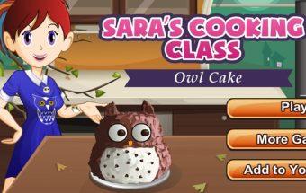 Paruoškite pelėdos pyragą. Naujas ir populiarus žaidimas mergaitėms
