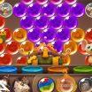 Peliuko burbulų šaudyklės žaidimas, pataikyk į burbuliukus.