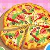 Atnaujintas maisto žaidimas Pica širdelė.