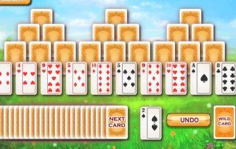 Žaiskite kortas kompiuteryje ir sudėkite kortas į kortų malką