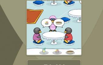 Žaidimas pingvino kavinė