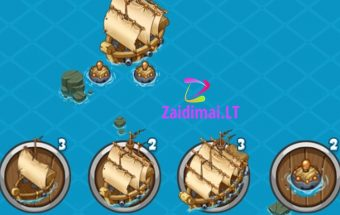 Žaidimas Piratų karai