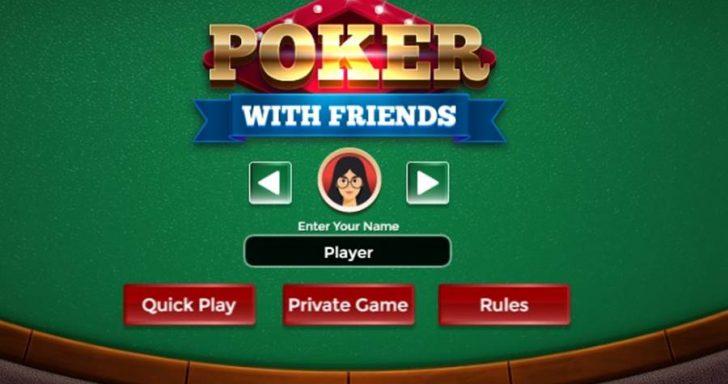 Atnaujintas Pokerio žaidimas.
