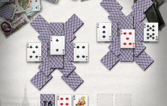 Kortų žaidimas su rusišku akcentu, rusiškos kortos iš Solitaire.