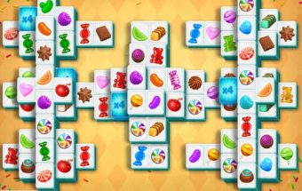saldainių mahjong žaidimas.