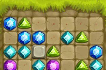 Sujungti deimantai – sujunk 3 žaidimas