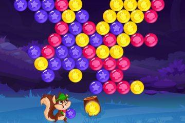 Burbuliukų miškas – burbulų šaudyklės žaidimas