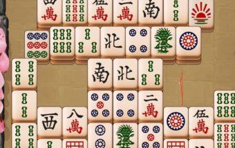 Loginis kinietiškas mahjong žaidimas.