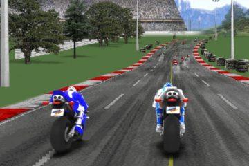 Sportiniai motociklai lenktynėse