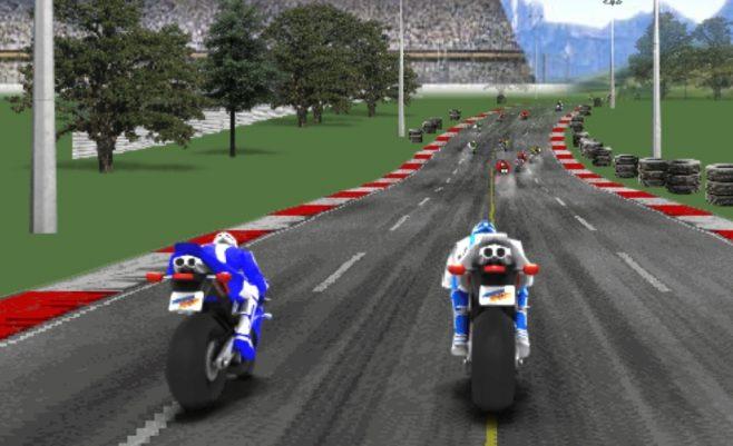 Žaidimas - sportiniai motociklai