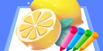 Žaidimas spalvoti pieštukai
