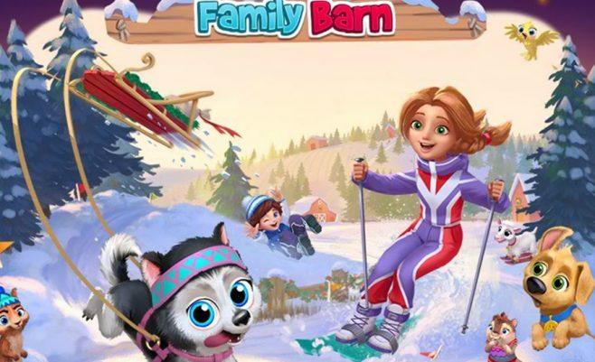 Ūkis žaidimas šeimai - Mano šeimos ferma.