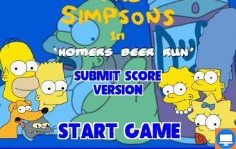 Simpsonai - Simpsonų žaidimai, Bartas, Liza ir Homeris