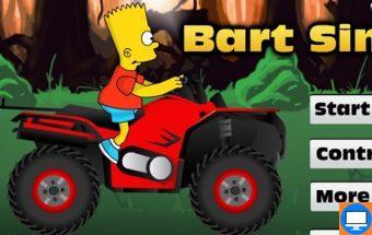 Simpsonų keturratis - Žaidimas vaikams su Simpsonais