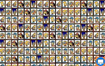 loginis žaidimas apie simpsono mahjong