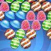 Skaniausių saldainių šaudyklės žaidimas