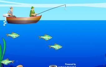 Žvejybos žaidimas vaikams ir rimtiems žvejams