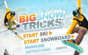 Sniego triukų sportinis žaidimas kiekvienam