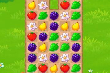Sodo gėrybės – Sujunk 3 vaisius