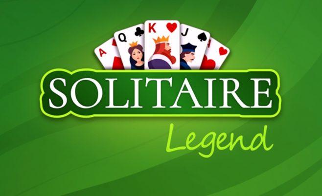 Kortų žaidimai - solitaire legendos.