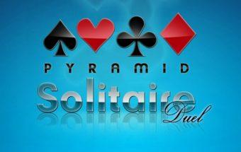 Kortos ir Solitaire - Solitaire piramidės žaidimas